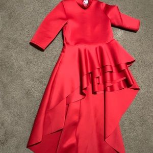Red Forever 21  plus size dress. Only worn once
